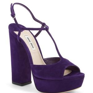 Miu Miu Mary Jane Platform Sandal