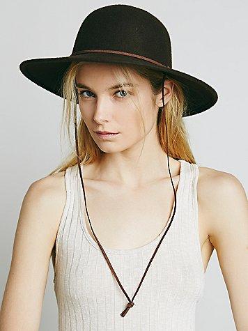 Round Top Ranger Hat