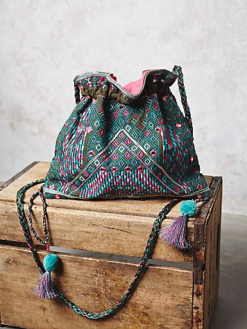 Ami Embroidered Crossbody