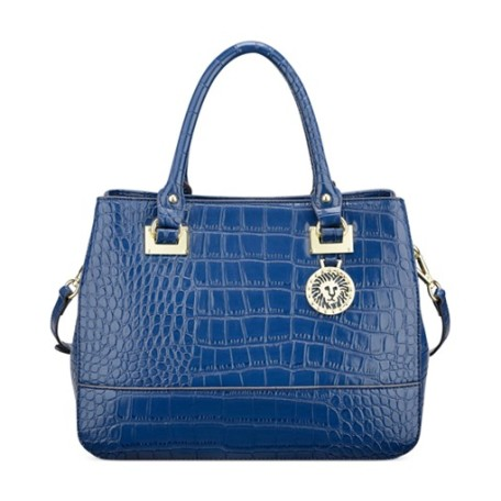 Anne Klein New Recruits Croco Satchel