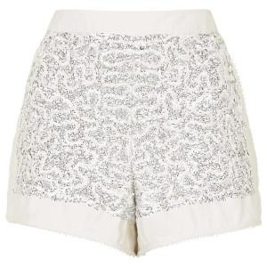 Dequin Embellished Shorts