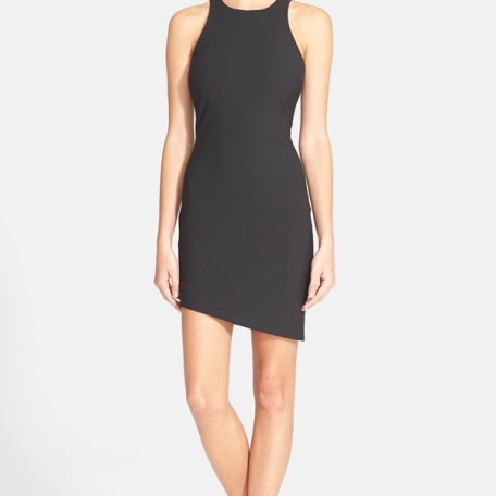 Elizabeth and James Bridget Asymmetrical Cutaway Dress