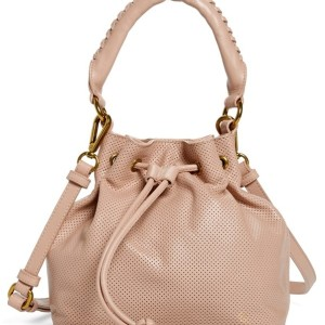 Elliott Lucca 'Gigi Bon Bon' Leather Drawstring Bag