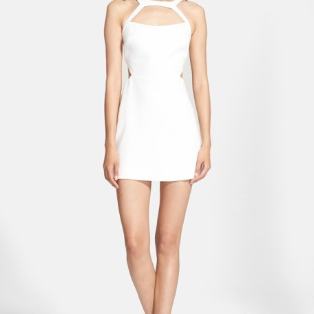 Jay Godfrey 'Hiro' Stretch Crepe Minidress
