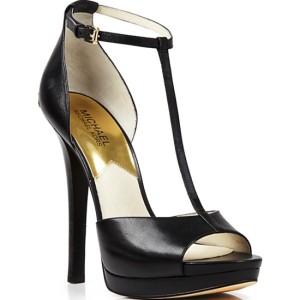 MICHAEL Michael Kors Open Toe T Strap Platform Sandals