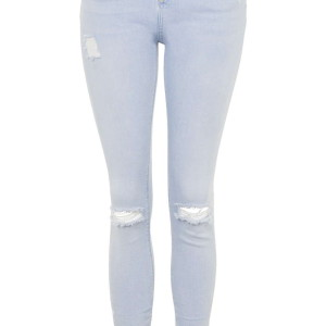 MOTO Bleach Ripped Jamie Jeans