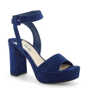 Miu Miu Block Heel Platform Sandal