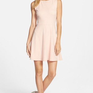 One Clothing Bow Back Skater Dress