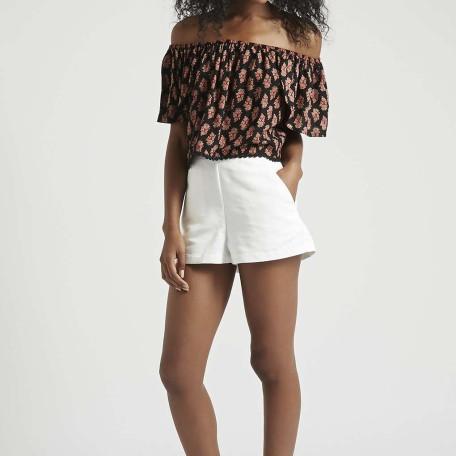 Tab Button Shorts