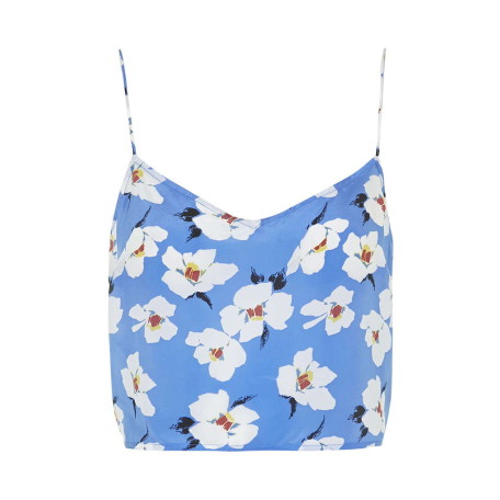 Takashi Floral Print Crop Top by Boutique