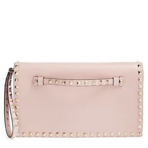 Valentino 'Rockstud' Leather Clutch