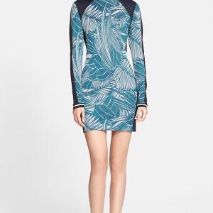 Veronica Beard Jacquard Body-Con Dress