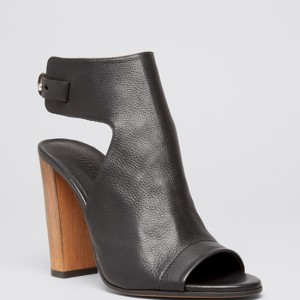 Vince Open Toe Platform Booties – Addie High Heel