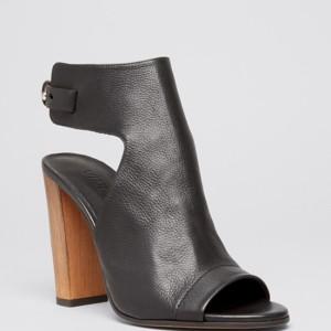 Vince Open Toe Platform Booties – Addie High Heel