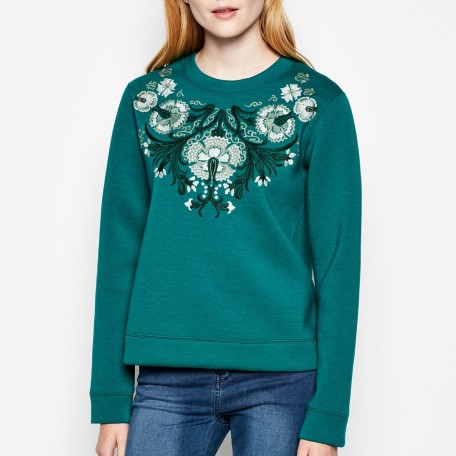 Germpore Embellished Sweatshirt