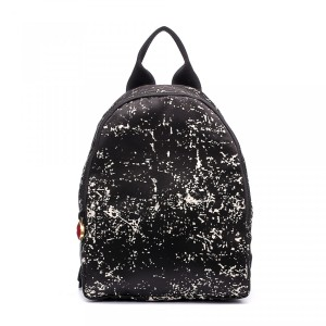 Lulu Giunness Floor Print Satin Backpack