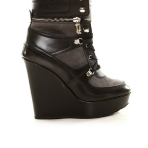 Mina Wedge Sneaker by John Galliano