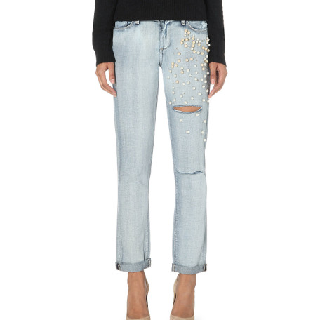Paige Denim jimmy embellished jeans