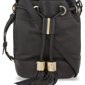 See By Chole Vicki cowhide bucket bag