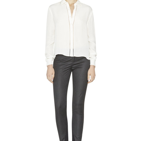 Stacey Slim Pant Without Cuffs