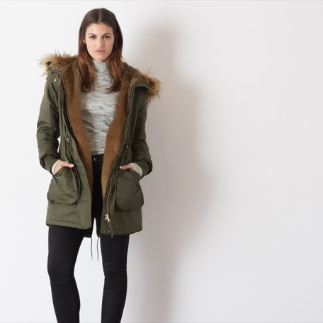 Winter Parka Faux