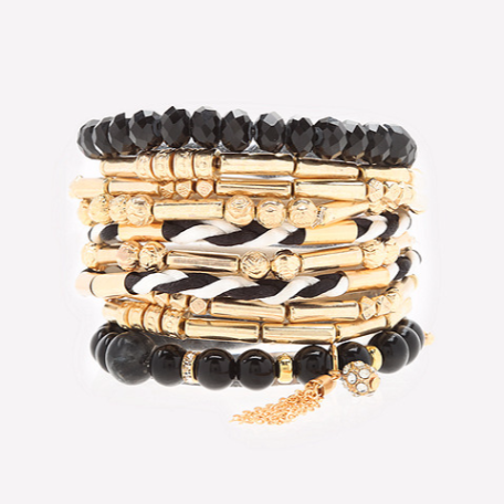 Bebe Stretch Bracelet Set