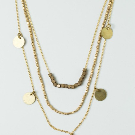 Kipaji Brass Necklace