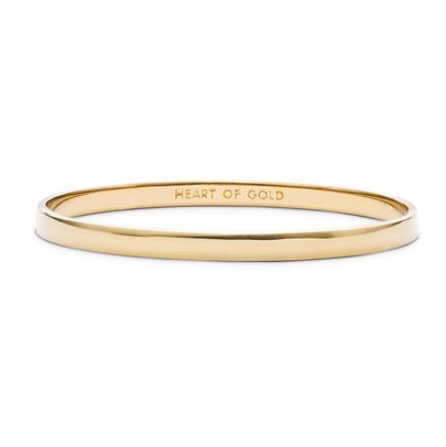 kate spade new york 'idiom – heart of gold' bangle