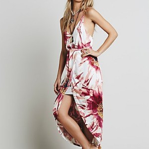 Summer Lady Printed Dress