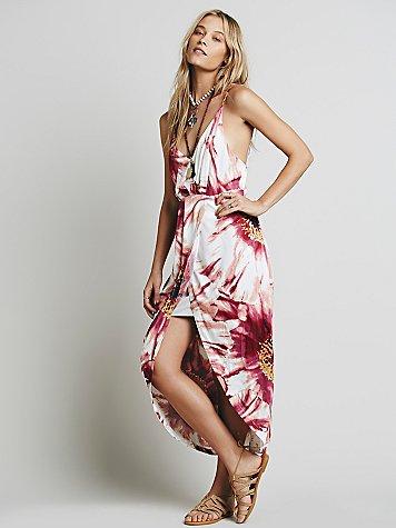 Summer Lady Printed Dress
