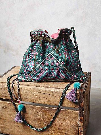 Ami Embroidered Crossbody