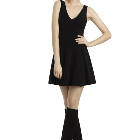 Bailey V-Neck Flounce Dress