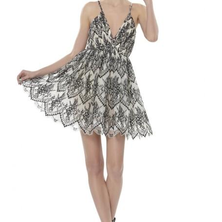 Cara Flared Dress