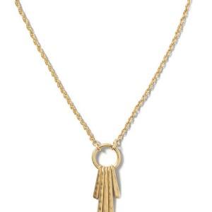 Circle Fringe Necklace