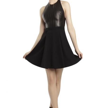 Danie Open Back Dress