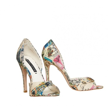 Gigi Printed Heel