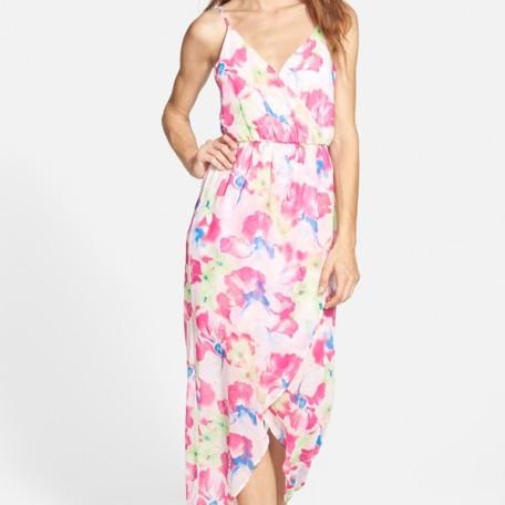 LushTulip Hem Maxi Dress