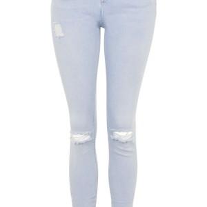 MOTO Bleach Ripped Jamie Jeans