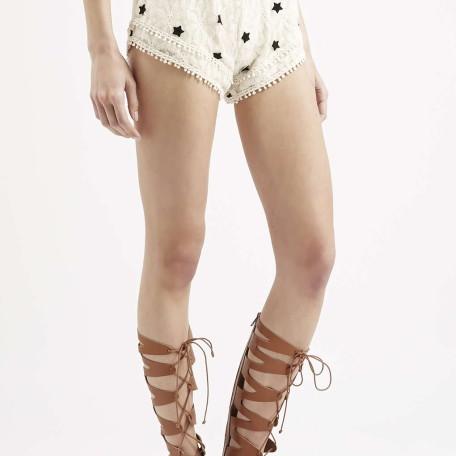 Pinball Lace Shorts By Native Rose