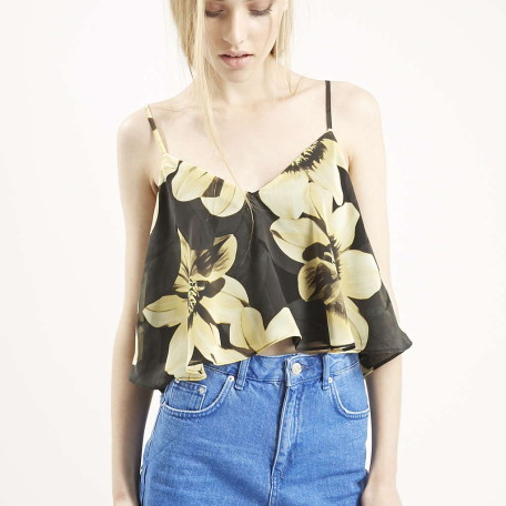 Sunflower Cropped Cami