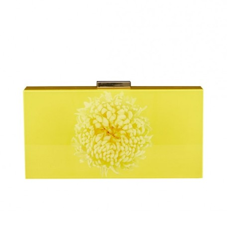 Yellow Flower Clutch
