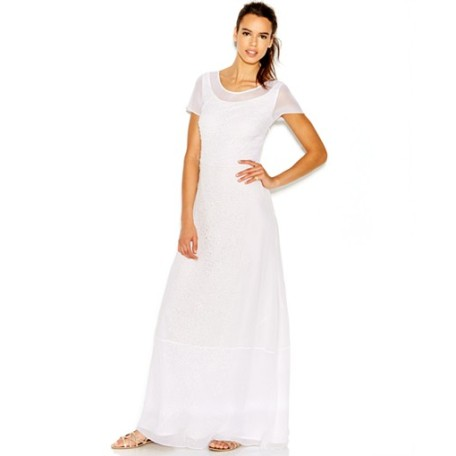 French Connection Layered Maxi Dress