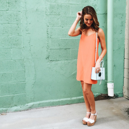 Buckley K Lucia Coral Dress