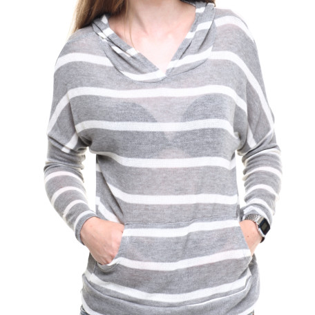 Drjays Lightweight Stripe Hoodie
