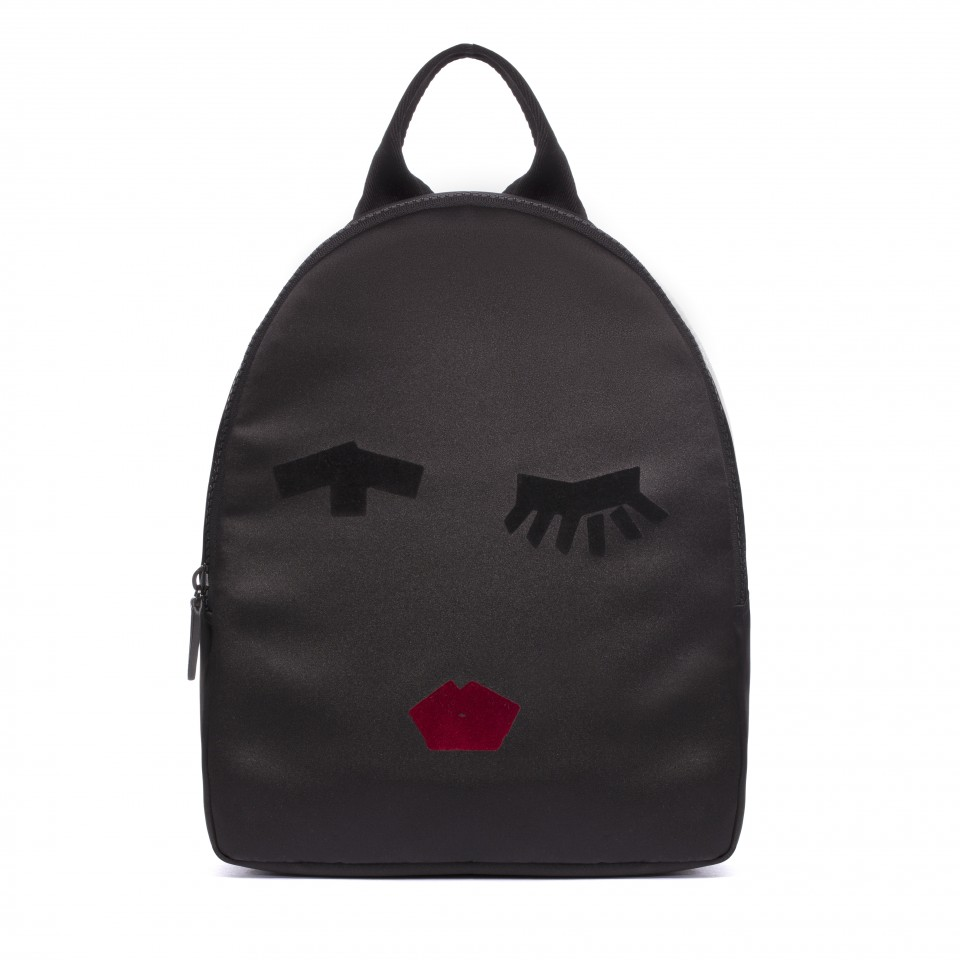 d19db920f2 Lulu Guinness Tape Face Satin Backpack – Nouveaute Boutique