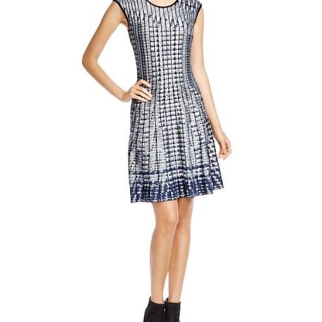 NIC + ZOE Abstract Print Dress
