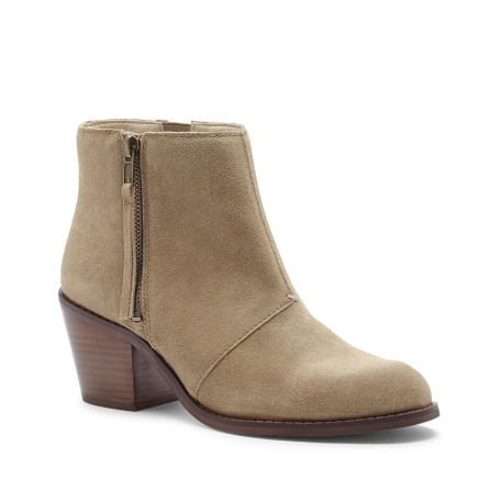 Sole Society Ines zipper ankle bootie