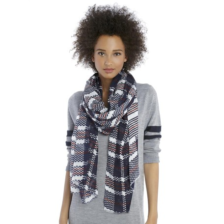 Sole Society Mixed Stripe Scarf