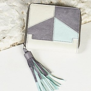Free People Ziggy Patched Leather Wallet