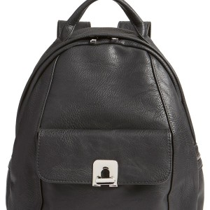 BP Faux Leather Backpack